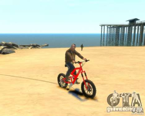 Mountain bike для GTA 4