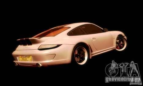 Porsche 911 Sport Classic для GTA San Andreas вид сбоку