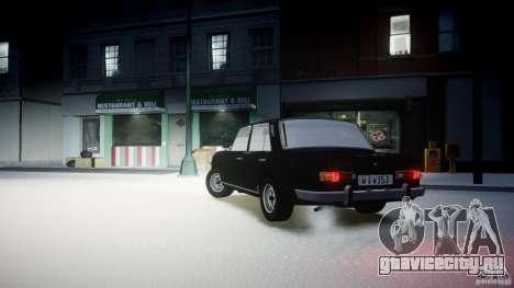 Wartburg 353 W Deluxe для GTA 4 вид слева
