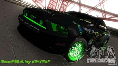 Ford Shelby GT500 Falken Tire для GTA San Andreas