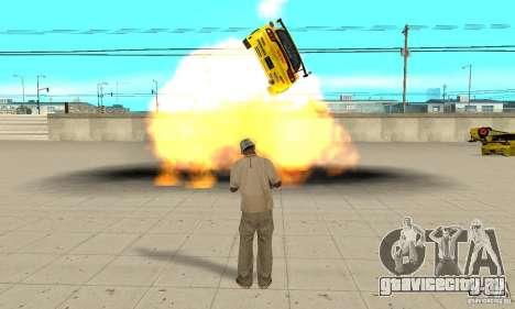 Сверхестественные способности CJ-я для GTA San Andreas пятый скриншот