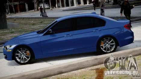 BMW 335i E30 2012 Sport Line v1.0 для GTA 4 вид слева