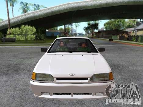 ВАЗ 2115 для GTA San Andreas вид сверху