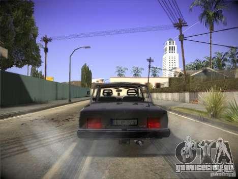 Tofas 124 Serçe для GTA San Andreas вид справа