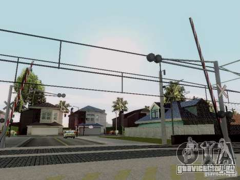 ЖД переезд RUS V 2.0 для GTA San Andreas четвёртый скриншот