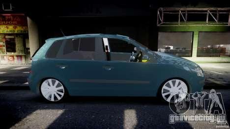 Volkswagen Polo 1998 для GTA 4 вид сбоку