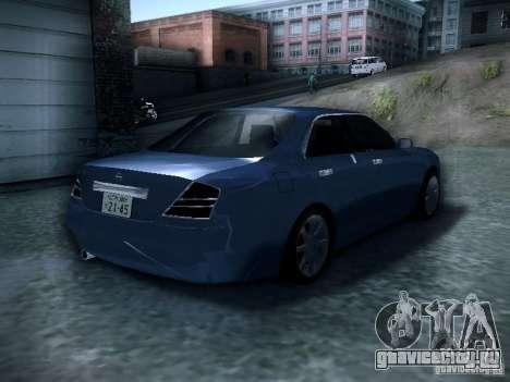 Nissan Gloria для GTA San Andreas вид сзади слева