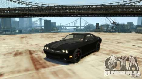 Dodge Challenger SRT8 для GTA 4 вид слева