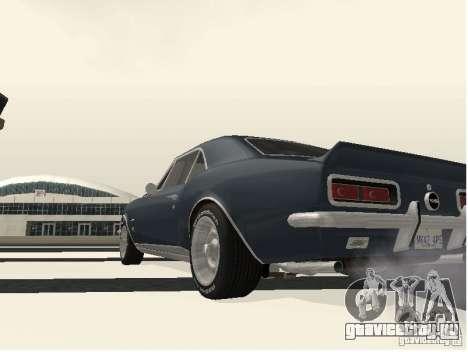 Chevrolet Camaro SS 396 Turbo-Jet для GTA San Andreas вид справа