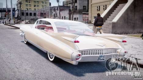 Cadillac Eldorado 1959 (Lowered) для GTA 4 вид сзади слева