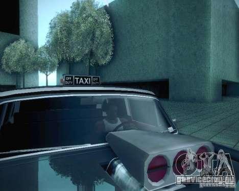 Diablo Cabbie HD для GTA San Andreas вид сверху