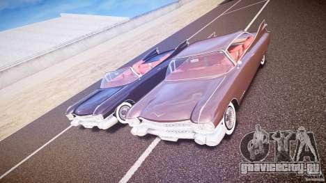 Cadillac Eldorado 1959 interior red для GTA 4