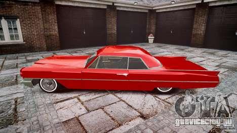 Cadillac De Ville v2 для GTA 4 вид слева