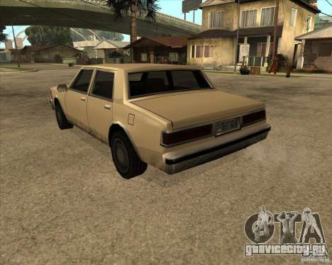 New Greenwood для GTA San Andreas вид слева