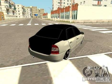 Лада Калина для GTA San Andreas вид слева