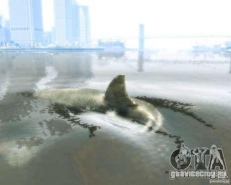 Megalodon для GTA 4 вид сзади слева