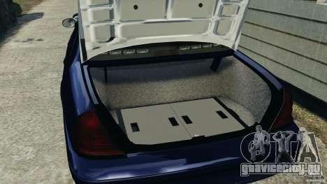 Ford Crown Victoria Police Unit [ELS] для GTA 4 вид сбоку