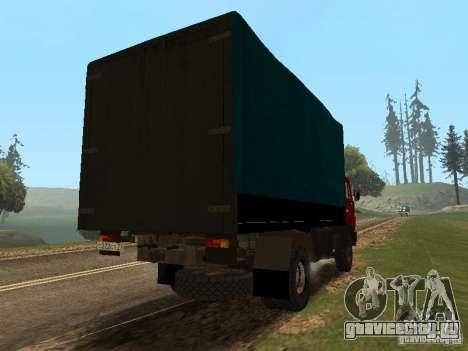 КамАЗ 5325 для GTA San Andreas вид сзади слева