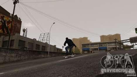 Скейтборд №4 для GTA 4 вид справа