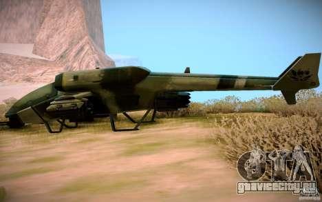Type 4 Doragon для GTA San Andreas вид справа