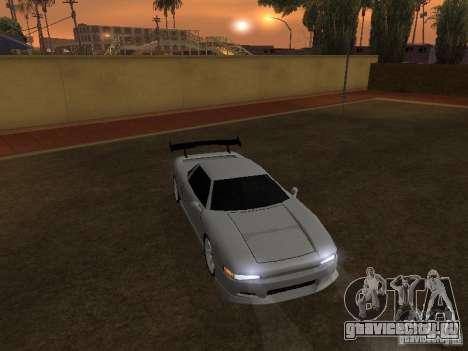 Новый Infernus HD для GTA San Andreas вид сзади слева