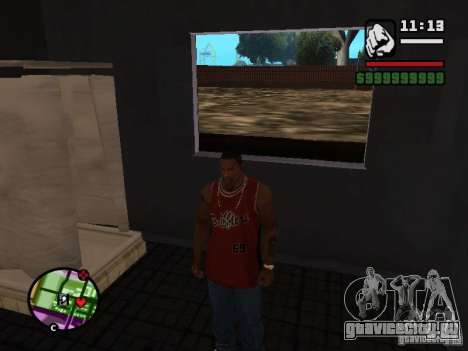 Ванная CJ для GTA San Andreas третий скриншот
