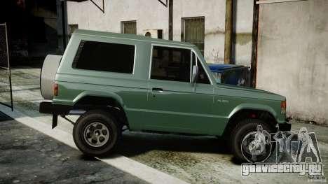 Mitsubishi Pajero I [Final] для GTA 4 вид слева