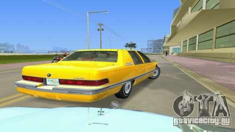 Buick Roadmaster 1994 для GTA Vice City вид сзади слева