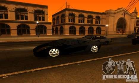Lamborghini Gallardo для GTA San Andreas салон