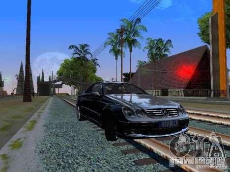 Mercedes-Benz CLK55 AMG для GTA San Andreas вид слева