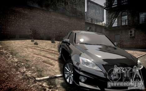 Lexus IS-F для GTA 4