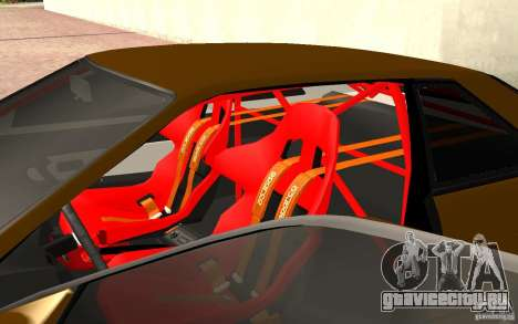 Nissan Silvia S13 Crash Construction для GTA San Andreas вид сзади