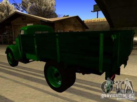 ГАЗ 51А для GTA San Andreas вид сзади