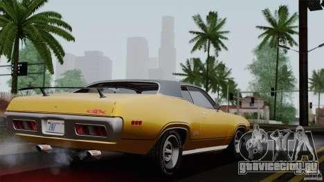 Plymouth GTX 426 HEMI 1971 для GTA San Andreas вид слева