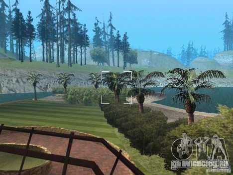 Остров с  особняком для GTA San Andreas четвёртый скриншот