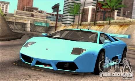 Lamborghini Murcielago R-SV GT1 для GTA San Andreas вид сверху