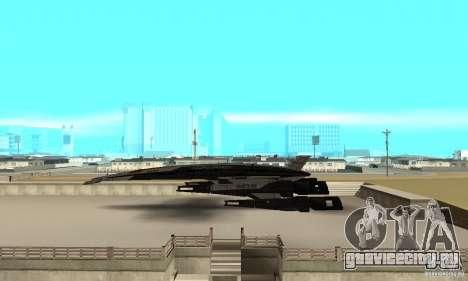 S.S.V. NORMANDY-SR 2 для GTA San Andreas вид слева