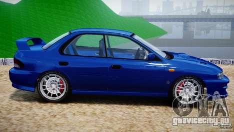 Subaru Impreza WRX STI 1999 v1.0 для GTA 4 вид слева