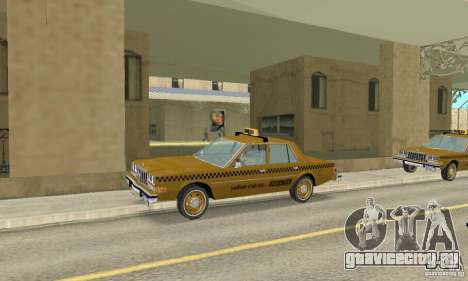 Dodge Diplomat 1985 Taxi для GTA San Andreas