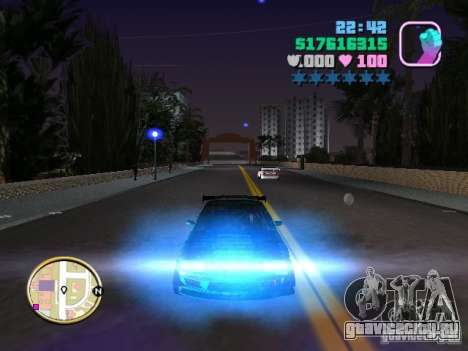 Nissan Silvia S15 Kei Office D1GP для GTA Vice City вид снизу
