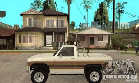 Ford Ranger для GTA San Andreas вид слева