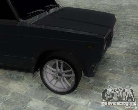 VAZ 2107 Drift Enablet Editional i3 для GTA San Andreas вид сзади слева