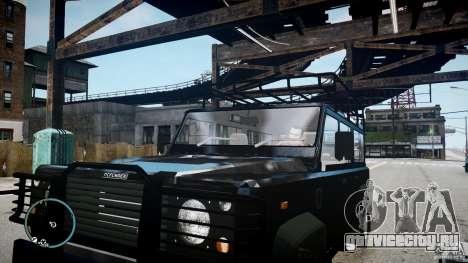 Land Rover Defender для GTA 4