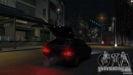 ВАЗ 2109 light tuning для GTA 4 вид снизу