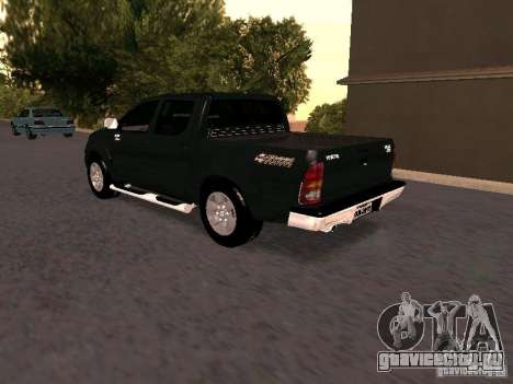 Toyota Hilux SRV 3.0 4X4 Automatica для GTA San Andreas вид слева