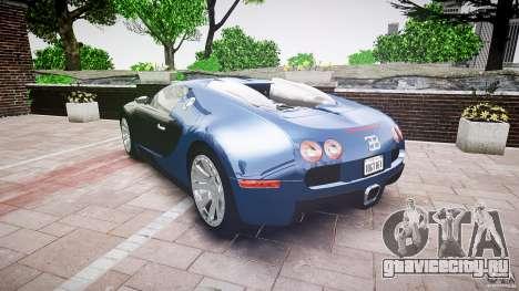Bugatti Veyron 16.4 v3.0 2005 [EPM] Strasbourg для GTA 4 вид сбоку