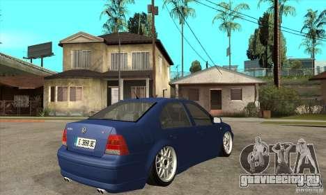 VW Bora VR6 Street Style для GTA San Andreas вид справа