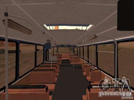 MAN SL200 Exclusive v.1.00 для GTA San Andreas вид снизу