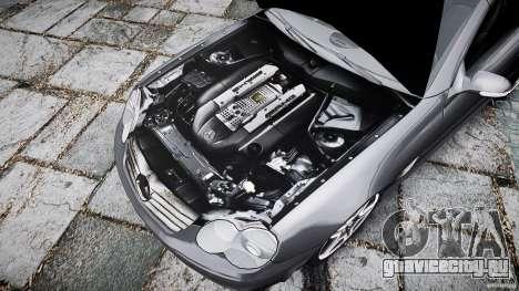 Mercedes Benz SL65 AMG для GTA 4 вид снизу