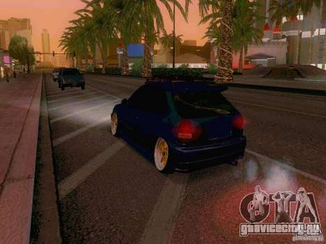 Honda Civic JDM Hatch для GTA San Andreas вид сбоку